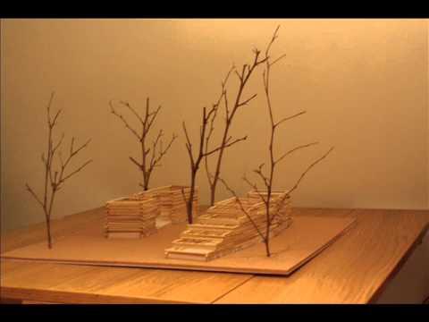 φυσική κατασκευή στο δάσος της Στροφυλίας| κατασκευή μακέτας