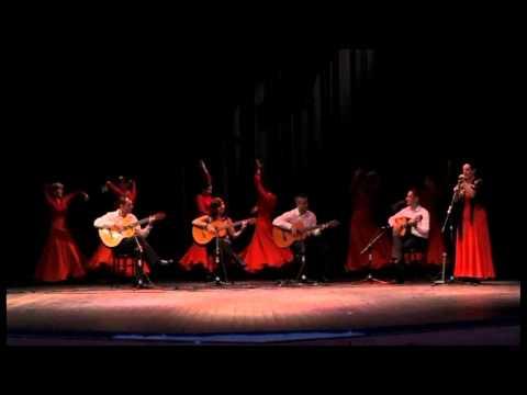 Sevillanas en directo..Guitarra Iniciacion... Escuela Artefusion Leganes