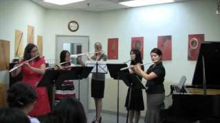 Ware Academy of Music Free Flute Ensemble