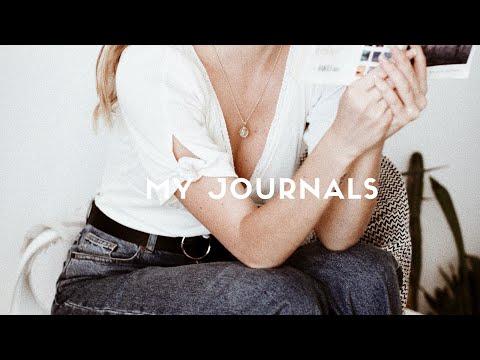My Journal / Sketchbook Tour / Nika