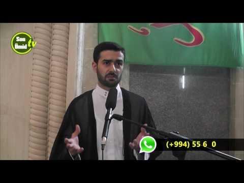 Hacı Samir Ramazan moizəsi Ənam surəsinin təfsiri