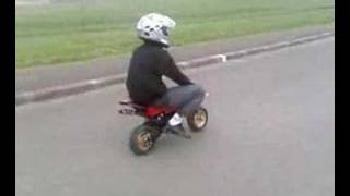 POCKET BIKE ET SUPERMOTARD EN RODAGE