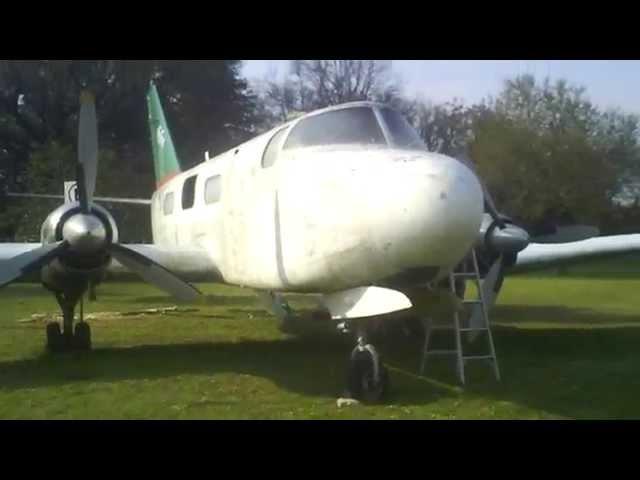 Proceso de restauración del Avión IA 50 Guaraní LV LAI