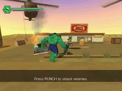 the hulk <b>pc game cheat</b> 1 invincibility (unlimited health) - YouTube
