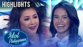 Regine at James, humanga sa performance ni Zephanie | Live Round | Idol Philippines 2019