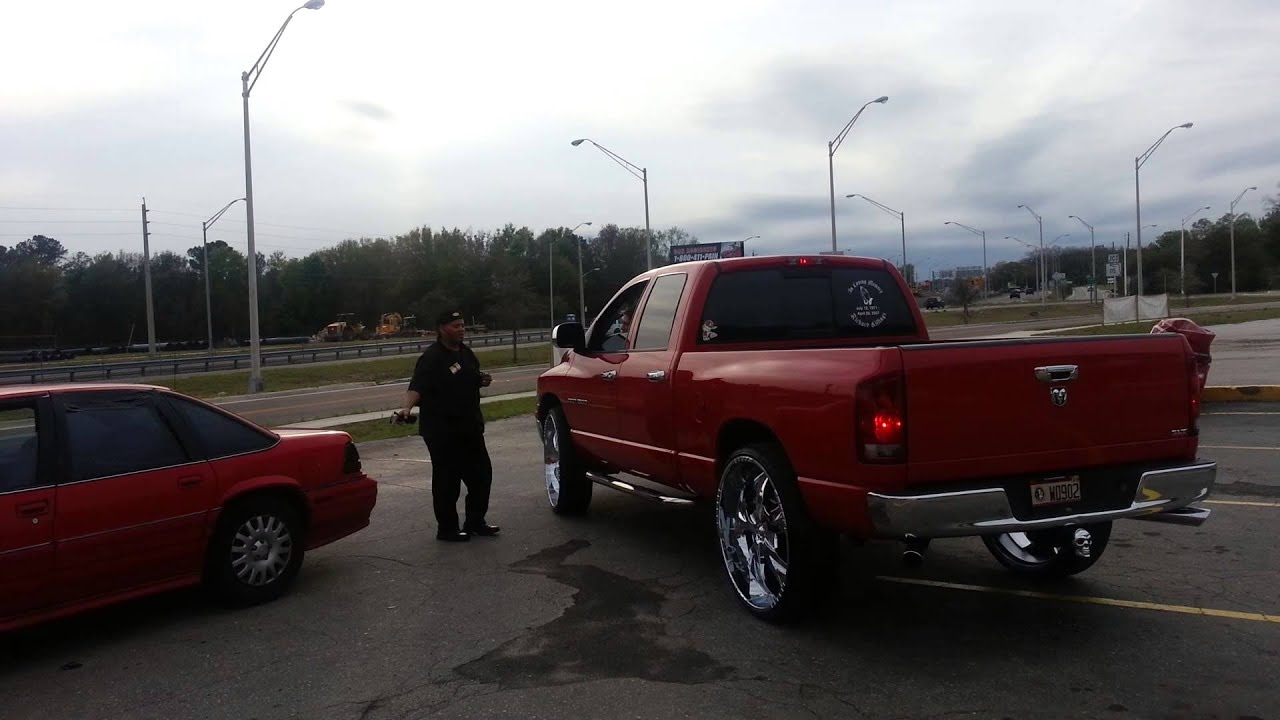 Dodge Ram With 22 Inch Rims >> 2005 dodge ram on 30's - YouTube