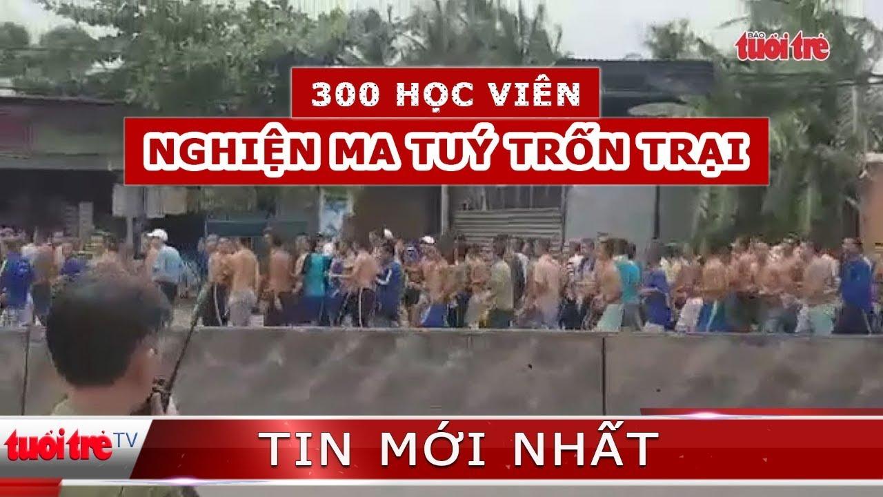 Hơn 300 học viên cai nghiện ma túy tại Tiền Giang trốn trại