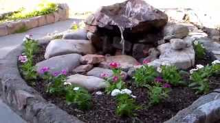Front Yard Water Fountain