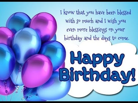 best birthday wishes for