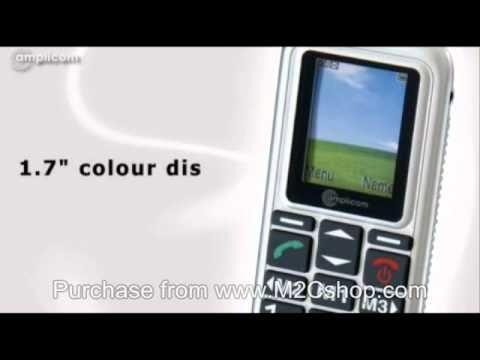 Amplicom PowerTel M4000 gsm Amplified Mobile Phone