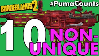 top 10 best non unique guns and weapons in borderlands 2 pumacounts