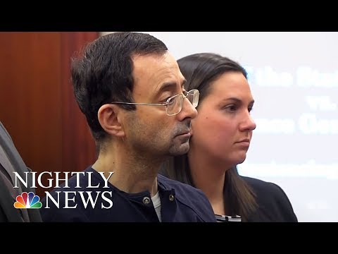 Gymnastics Doctor Larry Nassar Gets 40 To 175 Years For Sexual Abuse | NBC Nightly News