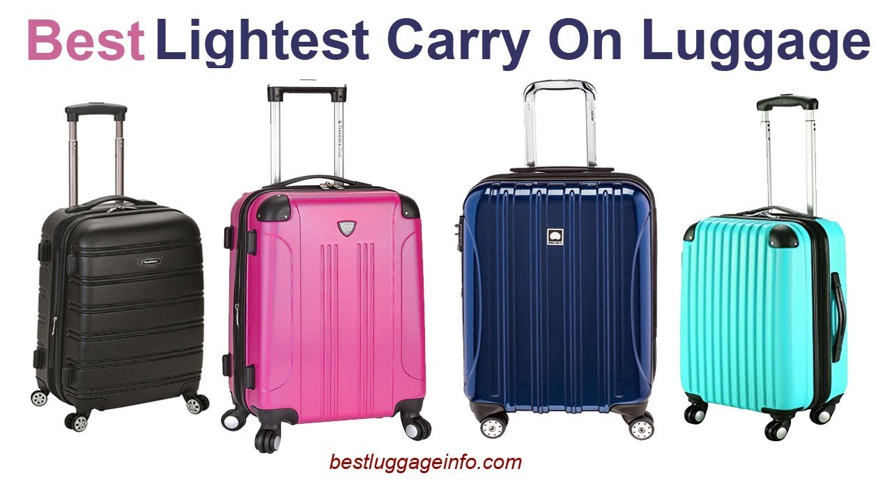 Best Lightest Carry On Luggage Ten Best Lightweight Cheap Carry On