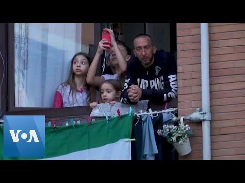 Italians Sing Volare, National Anthem to Lift Spirits Amid Coronavirus Lockdown