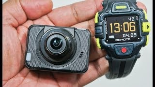 Eyeshot HD Action Camera -cool GoPro clone with a Live View Remote Watch [Review]