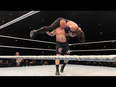 Universal Champion Brock Lesnar destroys Kane at WWE Live Event in Chicago