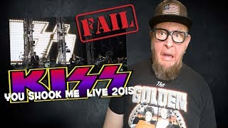 """Baixar Watch Paul Stanley and KISS butcher """"You Shook Me"""" Acoustic Live 2015"""