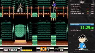 Batman (Sega Genesis) Any% speedrun in 16:20