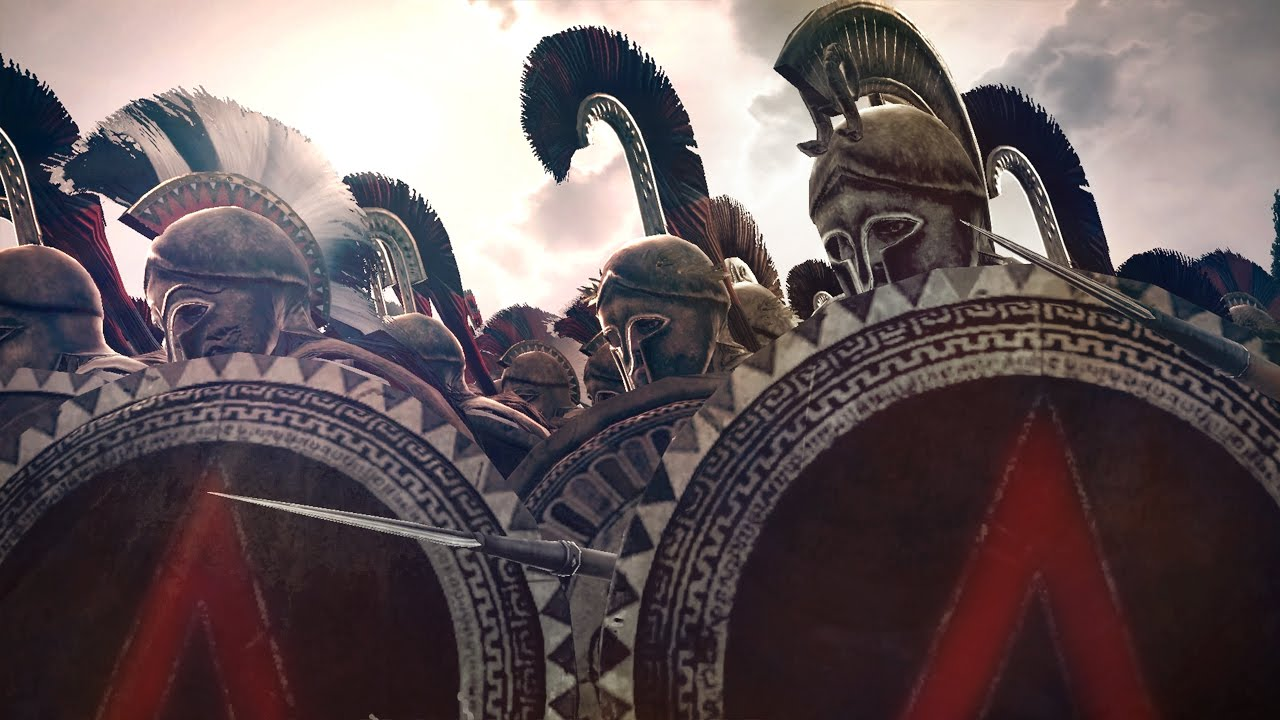 Download 300 Spartans vs 10000 Persians Siege of Sparta Rome 2 Total War