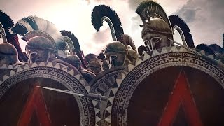 300 Spartans vs 10000 Persians Siege of Sparta Rome 2 Total War
