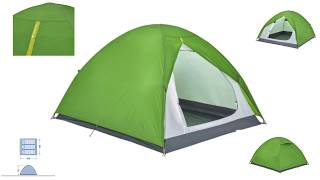 b3171a8ca ARPENAZ CAMPING TENT  PIPE  3 PERSON GREEN - DECATHLON - UNBOXING ...