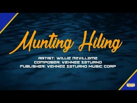 Willie Revillame - Munting Hiling (Lyric Video)