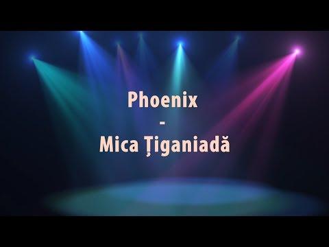Phoenix - Mica Tiganiada (versuri, lyrics, karaoke)
