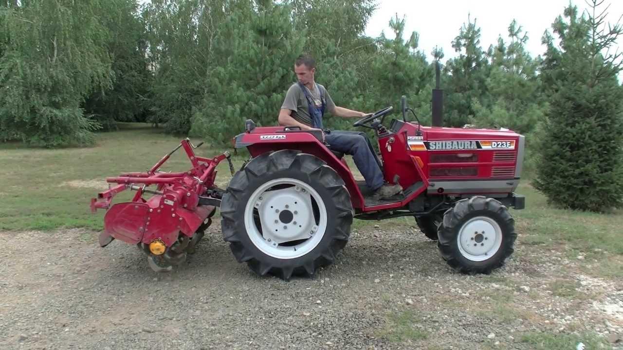 Download Shibaura D23F Japanese compact tractor at the Kelet-Agro, japán kistraktor