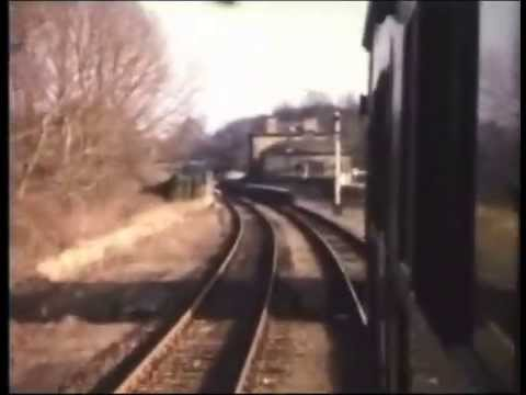 The last Train from Cambridge to Haverhill on 4th March, 1967