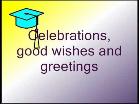 Congratulations its graduation day david lalwmv youtube congratulations its graduation day david lalwmv m4hsunfo Images