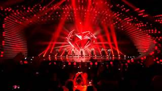 Conchita Wurst - You Are Unstoppable & Firestorm live #Eurovision Interval Act