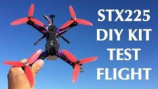 Test Flight - $99!!! STX225 DIY Version FPV Racing RC Drone Kit
