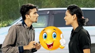 Funny Lady | Chalak Ladki | Marathi Joke | Hilarious | Funny Video | मराठी जोक्स | Comedy Video