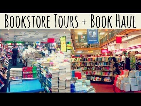 Bookstore Tours + Book Haul | Basement Books & Dymocks