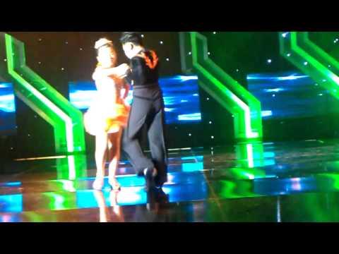 Các vũ công nhí  khiêu vũthanh truc va duy huy   chachacha