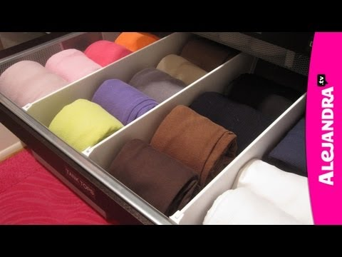 How to Organize Dresser Drawers & Fold Underwear, Bras, and Socks