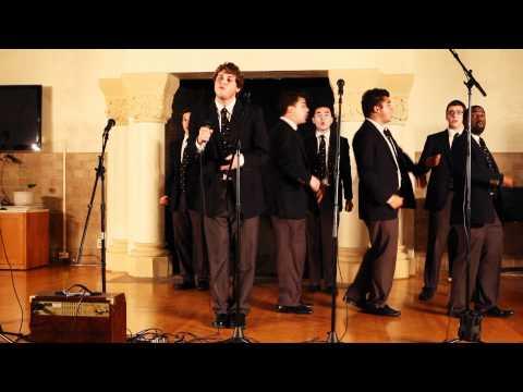 UC Men's Octet - Stanford Girl (Uptown Girl) @ Stanford/Berkeley Big Sing 2011