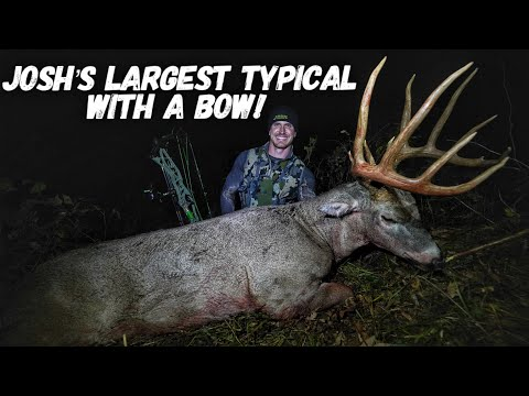 Josh's Largest Typical Whitetail EVER The Hunt For HollyWood! | Bowmar Bowhunting |