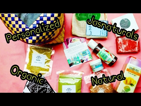 *NEW* JASBOX review   Natural & Organic   Personalized   full sized products   with Discount