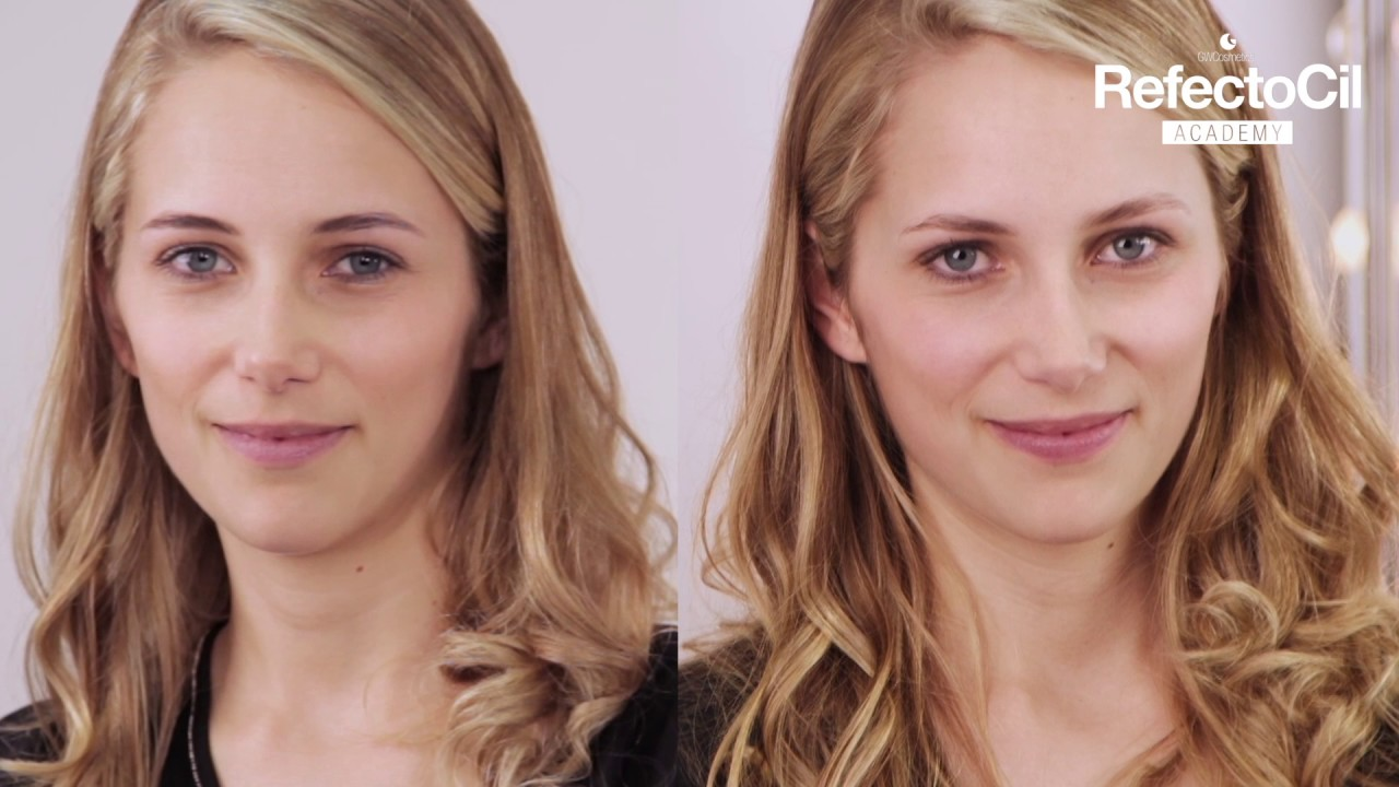 Refectocil Blonde Brow Youtube