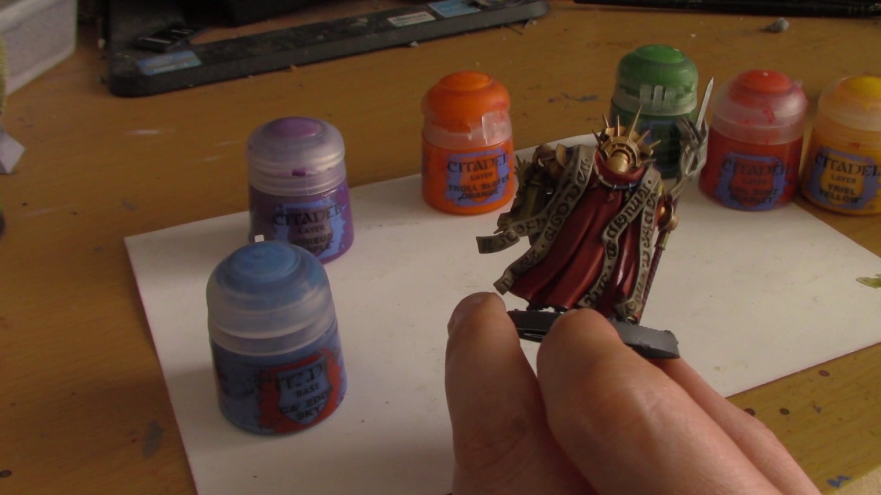 Color Theory For Miniature Painting