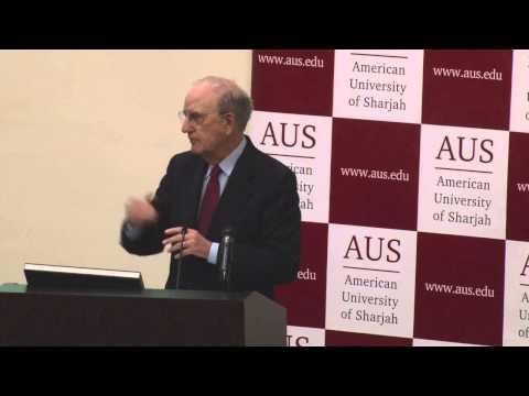 AUS Lectures | US Senator George J. Mitchell: MENA Reflections