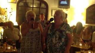 Maggie and Rosy singing a great version of Rivers of Babylon