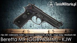 BERETTA M9 (GGB9606TM) FIRMY KJW - TANIEMILITARIA.PL