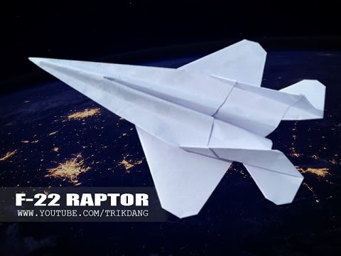How to make a paper jet fighter plane step by