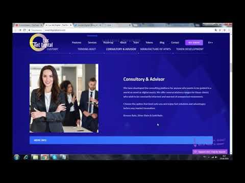 LUX ANT DIGITAL BANK - децентрализованная платформа онлайн банкинга на основе блокчейн