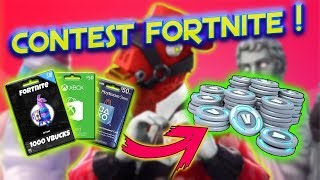 COME OTTENERE SKIN V-BUCKS E BALLI SU FORTNITE GRATIS! | CONTEST