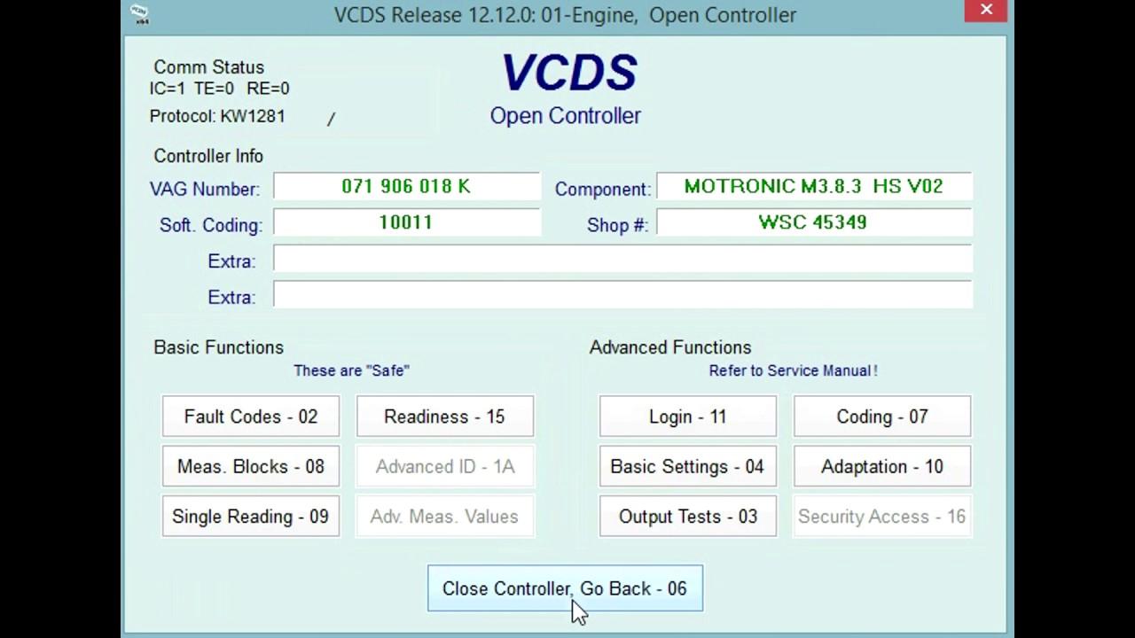 Vcds Maf Check