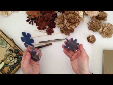 How I make my super simple Paper Flowers