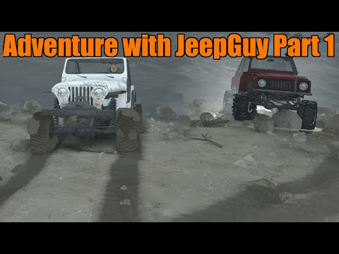 Spin Tires | Modded Multiplayer Feat. Jeep Guy | Jeep CJ and Suzuki Samurai Adventure
